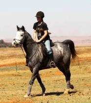 Saddle Up for an African Adventure! Firn Hyde joins The Hoof Print Blog