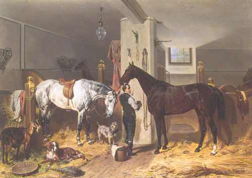 Franz Adam - The Stable Lad